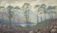 A Scottish Landscape, Sigismund Christian Hubert Goetze (British, 1866–1939).