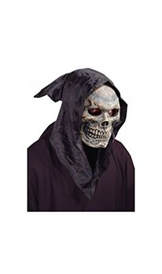 Skull Hooded Mask >>> Check out this great product. (This is an affiliate link) #MasksDressUpToys