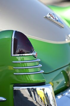 1948 Cadillac Taillight - Car Images by Jill Reger