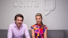 Photo by Bryce Vickmark for the Financial Times 6/4/15 - Mihael Mikek, CEO and co-founder and Maja Drolec, CFO and co-founder of Celtra, an ad tech company, at their offices in Boston, MA, USA.