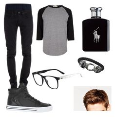 """College day"" by isasaurus on Polyvore featuring River Island, CYCLE, Ralph Lauren, Supra, Lacoste, Toni&Guy, men's fashion and menswear"