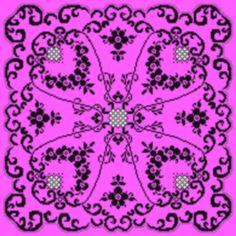 Pattern Tablecloth Crochet Filet Doily