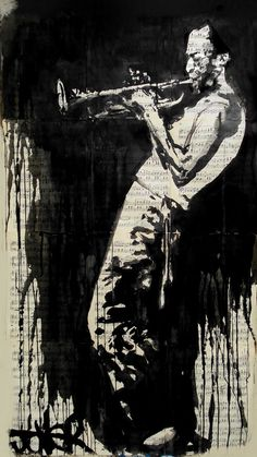 """miles"" by Loui Jover; Pen and Ink 2013 Drawing"