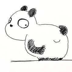 【一日一大熊猫】2017.9.23 ジャイアントパンダの白と黒の割合は 数値的には個体差や測り方で違ってくるみたいだけど だいたい6:4で白の方が広いらしいね。 秋分は昼と夜の長さがほぼ同じになるらしいから、しっかり覚えておかなくちゃ。 #パンダ #パンダの尻尾は白 #秋分