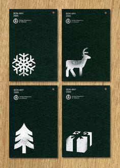 Diseño de Christmas para el Coll·legi d'Arquitectes de Catalunya