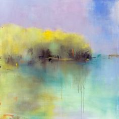 "Saatchi Art Artist Jacquie Gouveia; Painting, ""SOLD Sunlit Beginnings"" #art"