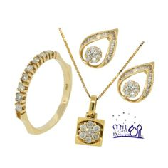 Um look completo para você!  #joias #anel #brincos #pingentes