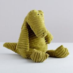 Corduroy Alligator in All Toys | The Land of Nod..my son loves his alligator!