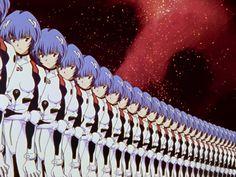 (4) Inicio / Twitter Rei Ayanami, Neon Genesis Evangelion, Hideaki Anno, Mecha Anime, Title Card, Aesthetic Anime, Anime Art, Animation, Prints