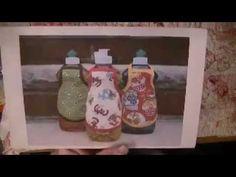Cute soap bottle apron that is sew easy!
