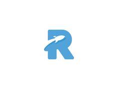 Rocket R by Sahil Sadigov #Design Popular #Dribbble #shots