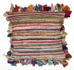Plush, colorful, and perfect for any cozy boho retreat, the beautiful Mirabella Floor Pillow by Bungalow Rose is the perfect accent for any well decorated home. Made from a blend of 100 percent natural eco-friendly yarns and crafted with soft cotton fabric, this ornate pillow is colorful and brings vibrancy as well as plush appeal with its polyester and polyfill stuffing. Toss it on the floor in front of a colorful velvet sofa in the living room, and  complement it with a fluffy shag or an…