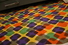 Alexander Girard Textiles.  At Herman Miller Archives in West Michigan.