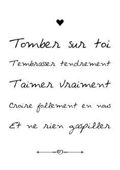 Tomber sur Toi...