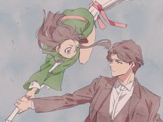 little witch academia Little Wich Academia, My Little Witch Academia, Akko X Andrew, Manhwa, Anime Witch, Tamako Love Story, Couple Drawings, Comic, Anime Ships