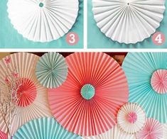 Crafts I Want Someone Else to Make For Me! / DIY Rosettes Using Window Shades