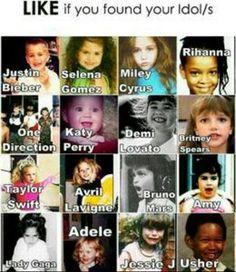 One Direction, Demi Lovato, Avril Lavigne, Selena Gomez, and Adele Hannah Montana, Disney Channel, Demi Lovato, Miley Cyrus, Justin Bieber, Adele, Selena Gomez, Justin Selena, Jessie J