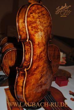 Мастеровая сольная скрипка / альт  модель Ltd. Edition -168V «птичий глаз»