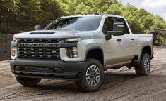 2020 Chevy All-New Silverado HD Truck: corner view stands on a dirt road New Trucks, Chevy Trucks, Pickup Trucks, Custom Trucks, Chevy Silverado Hd, Gmc Suv, Chevy 4x4, Chevrolet Tahoe, Van