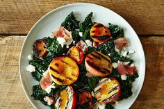 44 Impossibly Easy, Slightly Lazy, 100% Reliable Summer Dinners: Grilled Peach and Apricot Salad