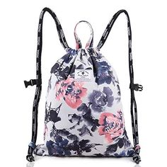 Dots Pink Green Brown Blue Drawstring Backpack Sports Athletic Gym Cinch Sack String Storage Bags for Hiking Travel Beach