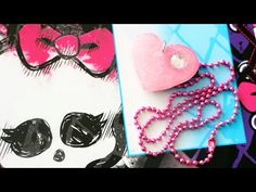 How to make Monster High inspired hot glue cabochons for jewelry and accessories - YouTube