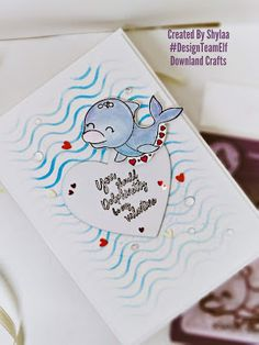 Hello crafty friends, I am Shylaa here today showcasingDolphinstampset from Downland Craft January release!All the newValentinerelease stamps are available for purchase at Downland Crafts online store! Use DTESHYLAA10 at checkout to get discount To start, I stampedthe images with Alcohol ink and coloured with distress ink and fussy cut it. Then i stenciled the card […] The post Dolphin Stamp appeared first on Downland Crafts. Dolphin Images, Wave Stencil, Craft Online, Distress Ink, Stamp Collecting, My Stamp, Dolphins, Elf, Card Stock