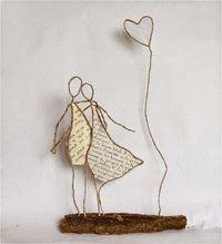 16 ideias de como fazer artesanatos para decoração com arame                                                                                                                                                                                 Mais