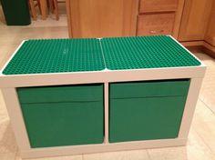 Lego masası ile çocuklarınıza kolay lego oyun alanları oluşturabilirsiniz. Lego masası; lego aktivite masası, anaokulu lego masası, lego oyun