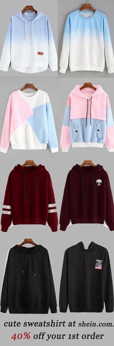 Cute sweatshirt collection for women. 40% off your 1st order!