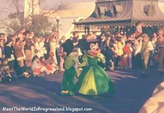 St. Patrick's Day Mickey and Minnie
