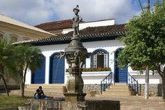 Conceição do Mato Dentro, MG - Brasil - Chafariz
