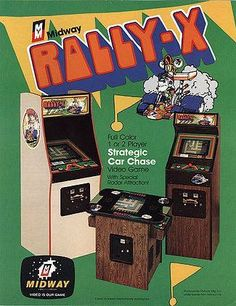 Lovely Rally X Arcade Cabinet