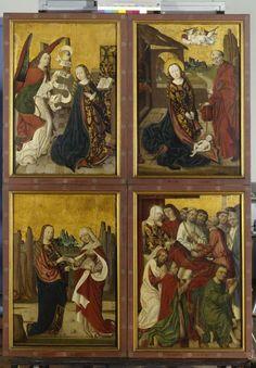 c. 1490 | Desconhecido| Volantes do retábulo de Dinkelsbühl |Germanischen National Museum