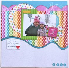 #papercraft #scrapbook #layout  kiwi lane IMG_0032