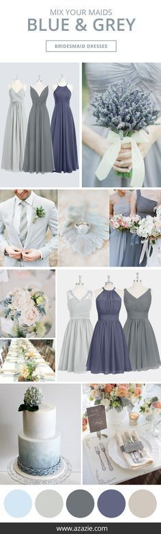 Wedding Themes Azazie is the online destination for special occasion dresses. Our online boutique connects bridesmaids and brides with over 400 on-trend styles, where each is available in 50 colors. Wedding Goals, Wedding Themes, Wedding Styles, Dream Wedding, Wedding Day, Wedding Blue, Wedding Beach, Wedding Country, Blue Wedding Colors