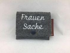 Weiteres - Tampontäschchen aus Wollfilz - Frauensache - ein Designerstück von Hermers-Design bei DaWanda