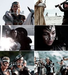Queen Hippolyta | Princess Diana | General Antiope