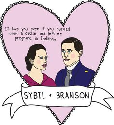 Downton Abbey Valentines