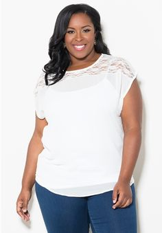 Nikki Chiffon Top $49.90 by SWAK Designs #PlusSize #Curvy
