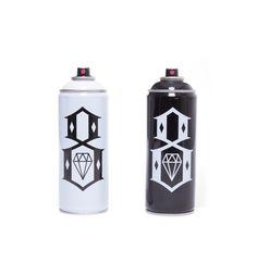 REBEL8 X Ironlak Spraypaint #2016 #art #black