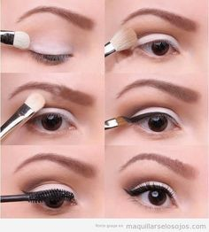 This website has awesome tutorials for all different cat-eyes.