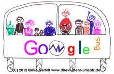 """Google-Buzz vs. Google-Bus  """"Hände weg von SEO"""" Warum Sie wirksame Verkaufstexte nicht den Keywords opfern sollten... - im Blog"""