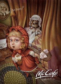 McCafe - Le petit chaperon roug