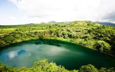 "One of the most successfull place in Comoros : ""Trou du Prophète"""