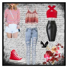 """""""Untitled #12"""" by merima-meryy ❤ liked on Polyvore featuring beauty, Converse, Motel and Dolce&Gabbana"""