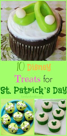 Before you shop for your St. Patrick's Day class party, check out these fun Disney-inspired treats!!!