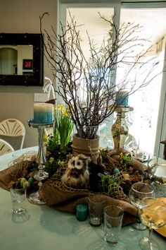 Woodland Baby Shower...one more view~