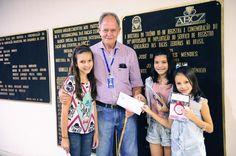 Conheça Maria Clara, de 8 anos, Maria Júlia, de 10, e Maria Eduarda Trivelato, de 9 anos, as novas associadas mirins!