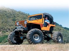 2002 Top Truck Challengers 1956 Jeep CJ3A - Four Wheeler Magazine